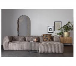 Afbeelding van product: WOOOD Exclusive Bean hoekbank grove ribstof terrazzo rechtervariant
