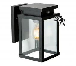Afbeelding van product: Jersey buitenlamp M met sensor metaal zwart
