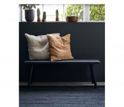 Afbeelding van product: House Doctor Nadi bank/sidetable hout zwart 120 cm