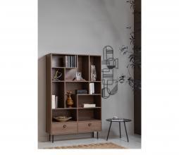 Afbeelding van product: WOOOD Prato vakkenkast hout walnoot