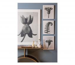 Afbeelding van product: BePureHome Artwork plantstudie 38 karton grijs/beige