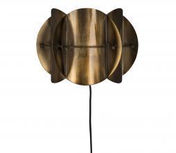 Afbeelding van product: Dutchbone Corridor wandlamp metaal antique brass