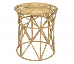 Afbeelding van product: Selected by kruk Ø38 cm waterhyacint naturel