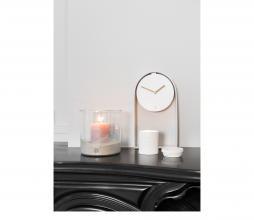 Afbeelding van product: Zusss tafelklok aluminium wit