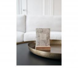 Afbeelding van product: Zusss stylingbord metaal div. afmetingen metaal brons Ø50cm
