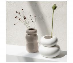 Afbeelding van product: Selected by Pebble vaas aardewerk grijs