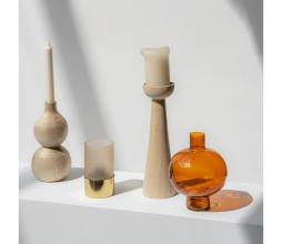 Afbeelding van product: Selected by Lightness kandelaar hout blank