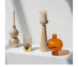 Afbeelding van product: Selected by Bulb kandelaar hout blank