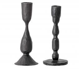 Afbeelding van product: Selected by Deja set van 2 kandelaren metaal zwart