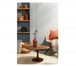 Afbeelding van product: Selected by Bicaba bijzettafel div. afmetingen hout bruin Ø70x40 cm