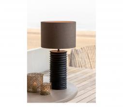 Afbeelding van product: Selected by Mauro lampvoet Ø18x38 cm hout zwart