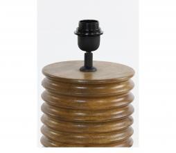Afbeelding van product: Selected by Mauro lampvoet Ø18x38 cm hout bruin