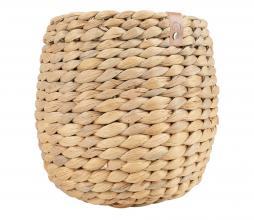 Afbeelding van product: Zusss gevlochten mand waterhyacint div. afmetingen 15x15 cm