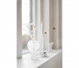 Afbeelding van product: Zusss vaasje met gouden randje glas div. afmetingen 18 cm