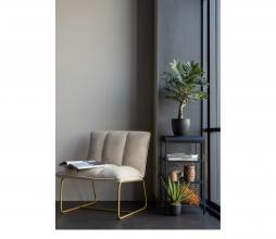 Afbeelding van product: WOOOD Fie fauteuil ribstof zand