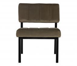 Afbeelding van product: WOOOD Exclusive Kaja fauteuil velvet army groen