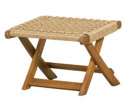 Afbeelding van product: WOOOD Lois voetenbank ruit (binnen-buiten) hout naturel