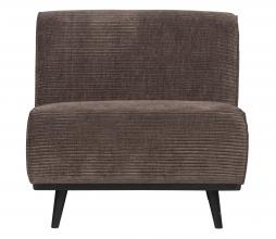 Afbeelding van product: BePureHome Statement fauteuil brede rib taupe