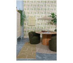 Afbeelding van product: HKliving Hemp vloerkleed ø250cm hennep naturel