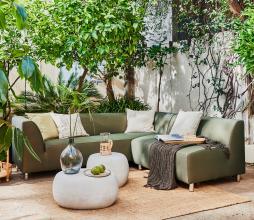 Afbeelding van product: vtwonen Hollandia 2-zits bank outdoor (binnen-buiten) groen