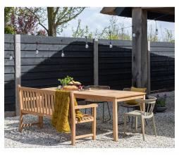 Afbeelding van product: WOOOD Jisse tuintafel teakhout naturel div. afmetingen 200 cm (6-8 personen)