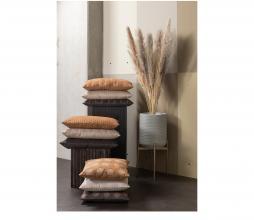 Afbeelding van product: WOOOD Exclusive Riv kussen 45x45 cm velvet espresso