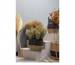 Afbeelding van product: WOOOD Exclusive Alexa opbergmanden set van 3 naturel/zwart