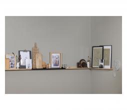 Afbeelding van product: vtwonen Wandplank fotolijsten 100 cm eiken naturel