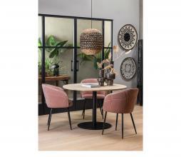 Afbeelding van product: WOOOD Tablo rond tafelblad ø120 cm eiken onbehandeld