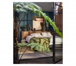 Afbeelding van product: HKliving Lines plaid 130x170 cm pistache groen