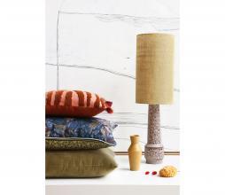 Afbeelding van product: HKliving Retro lampenvoet H 45 cm aardewerk bruin