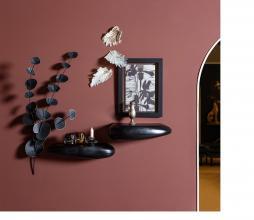 Afbeelding van product: BePureHome Eucalyptus wanddeco metaal zwart