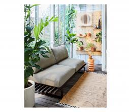 Afbeelding van product: HKliving Petty vloerkleed (binnen-buiten) div. afmetingen naturel 120x180 cm