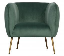 Afbeelding van product: WOOOD Scout fauteuil velvet groen