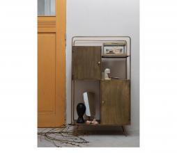 Afbeelding van product: BePureHome Arrogant staande spiegel 41 cm metaal antique brass