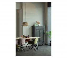Afbeelding van product: WOOOD Tablo eettafel eiken 2-standen poot 220 cm