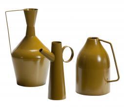 Afbeelding van product: BePureHome Tins vazen set van 3 metaal fudge