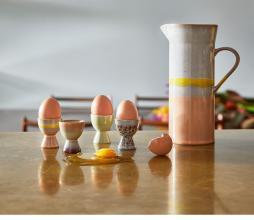 Afbeelding van product: HKliving 70's Sunrise kan aardewerk multicolor