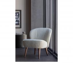 Afbeelding van product: WOOOD Sara fauteuil teddy off white