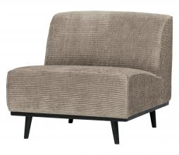 Afbeelding van product: BePureHome Statement fauteuil brede rib clay