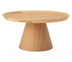 Afbeelding van product: Selected by Luana koffie- salontafel eiken fineer Ø74x37 cm naturel