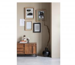 Afbeelding van product: WOOOD Kenji set van 2 deco mangohout zwart/wit