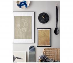 Afbeelding van product: Selected by Jamin wandklok zwart/goud