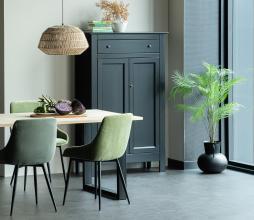 Afbeelding van product: WOOOD Eva meidenkast 150x93x40 cm grenen zwart