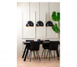 Afbeelding van product: Selected bu Jaicey hanglamp 3L metaal mat zwart/goud