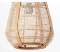 Afbeelding van product: Selected by Jacinto hanglamp div. afmetingen naturel hout 44 x Ø32 cm