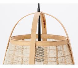 Afbeelding van product: Selected by Jacinto hanglamp div. afmetingen naturel hout 50 x Ø38 cm