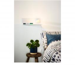 Afbeelding van product: Selected by Sebo wandlamp metaal wit