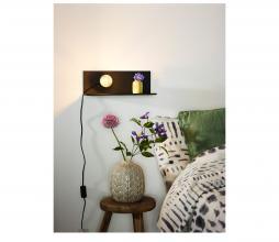 Afbeelding van product: Selected by Sebo wandlamp metaal zwart