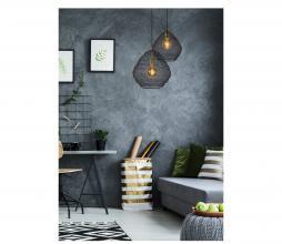 Afbeelding van product: Selected by Saar hanglamp div. afmetingen zwart metaal Ø38 cm